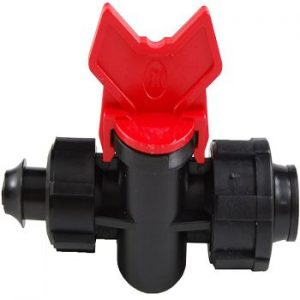 16mm Drip Tape Valve with 10mm Take off