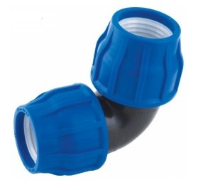 HDPE Elbow Compression Coupling